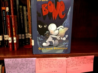 Bone, reviewed by Aiden, Ned, and Saraya