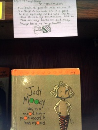 Judy Moody, reviewed by Charlotte S.