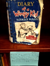 Diary of a Wimpy Kid, reviewed by Jonathan