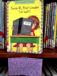 Junie B. Jones, reviewed by Josie
