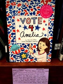 Vote 4 Amelia, reviewed by Nakhia
