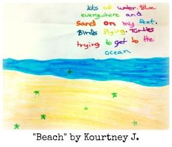 Beach by Kourtney J.