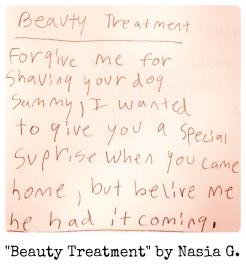 Beauty Treatment by Nasia G.
