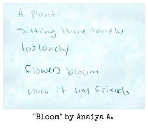 Bloom by Anaiya A.
