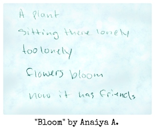 Bloom by Anaiya A.