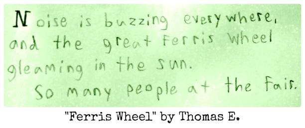 Ferris Wheel by Thomas E.