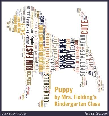 Mrs. Fielding's Kindergarten Class - Puppy