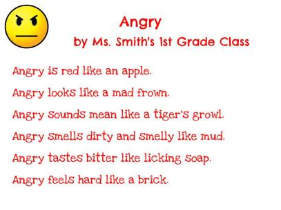 Ms. Smith's 1st Grade - Angry