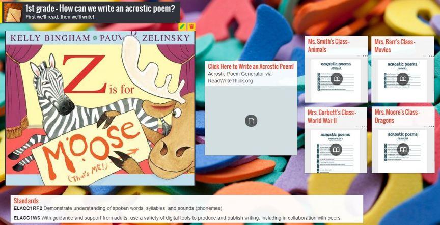 screenshot via padlet.com  - click to visit!