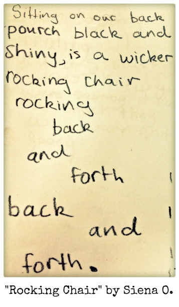 Rocking Chair by Siena O.