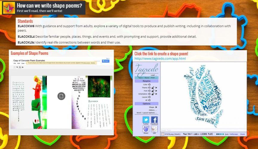 Screenshot from Padlet - click to visit!