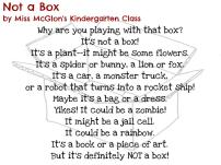 Not a Box by Miss McGlon's Kindergarten Class