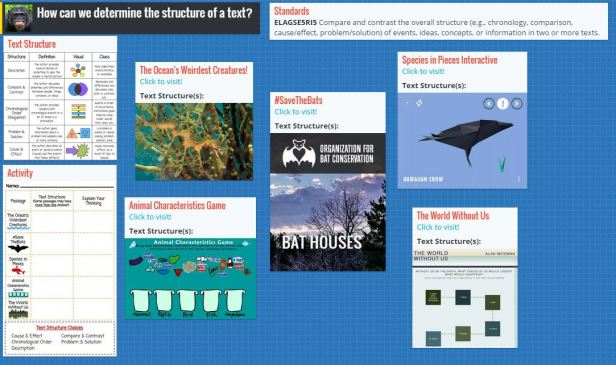 Our lesson Padlet - click to visit!
