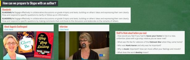 Click the image to visit our Padlet